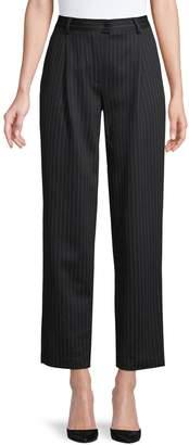 Max Mara Striped Cropped Pants