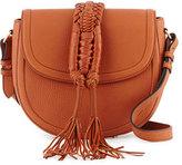 Altuzarra Ghianda Woven Knot Saddle Bag, Saddle