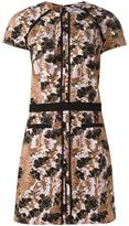 Carven Robe Manches dress - women - Silk/Polyester/Acetate/Viscose - 36