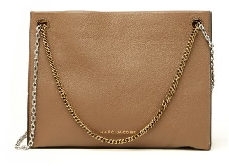 Marc Jacobs Large Double Link Leather Crossbody Bag