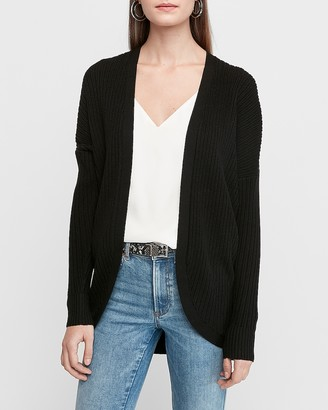 Express Cozy Ribbed Cocoon Cardigan