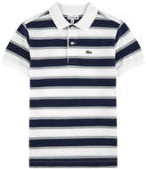 Lacoste Striped polo