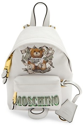 Moschino Mini Dollar Bear Backpack