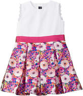 Oscar de la Renta Girls' Rainbow Dahlia Party Dress