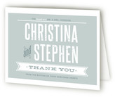 Minted Woodtype Poster Thank You Cards