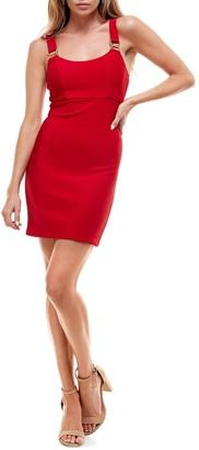 Rowa Bodycon Ruched Back Dress