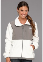 The North Face Women's Denali Jacket (R TNF White/Pache Grey) - Apparel