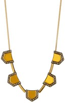 Botkier Embellished Geometric Chain Necklace