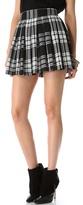 Alice + Olivia Fizer Box Pleat Skirt