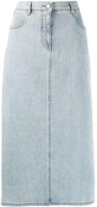 Fabiana Filippi High-Waist Denim Skirt