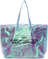Marc Jacobs Blue PVC The Iridescent Tote