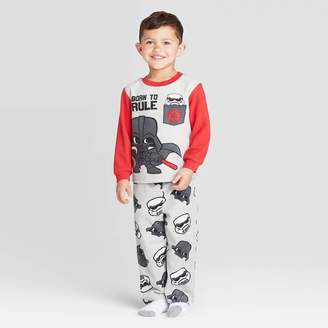 Star Wars Toddler Boys' 2pc Fleece Pajama Set -