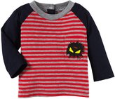 Fendi Striped Tee (Baby) - Red-3 Months