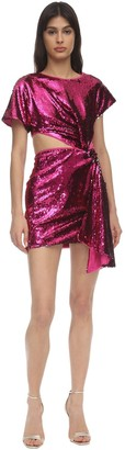 Alice McCall Sequined Mini Dress