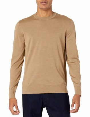Theory Mens Merino Wool Sweater Crew Neck Po