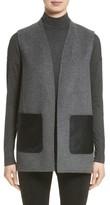 Lafayette 148 New York Women's Nika Wool & Cashmere Reversible Vest