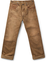 Ralph Lauren Selvedge Buckled-back Pant