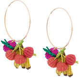 Mercedes Salazar Tutti Frutti hoop earrings