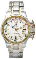 Bulova Men's 65B105 Accutron Two-Tone Elapsed Time Dial Watch