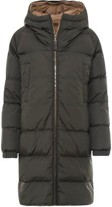 Max Mara Reversible Hooded Puffer Coat