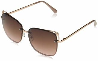 Southpole Women's 1000SP Non-Polarized Iridium Round Sunglasses