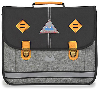 Poids Plume NEW LIGHT CARTABLE 38 CM boys's Briefcase in Grey