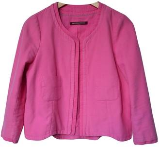 Comptoir des Cotonniers Pink Cotton Jacket for Women
