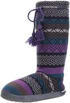 Muk Luks Women's Gloria Bright Purple Slipper
