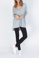 Gentle Fawn Grey Button Up