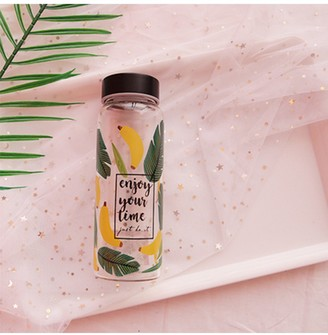 Goodnight Macaroon 'Cheryl' Print Water Glass Bottle (2 Styles)