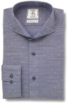 Maker & Company Men's Trim Fit Solid Dress Shirt