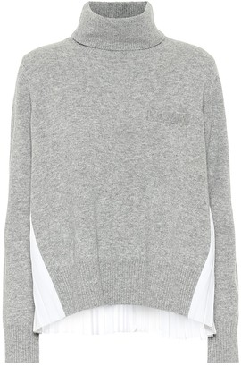 Sacai Turtleneck wool sweater