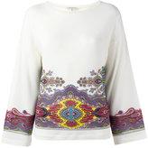 Etro printed blouse - women - Spandex/Elastane/Viscose - 40