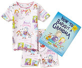 Books To Bed Little/Big Girls 2T-10 How to Babysit a Grandma Fitted Two-Piece Pajamas & Book Set