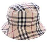 Burberry Nova Check Bucket Hat