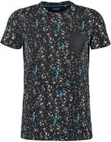 Kaporal Siki Print Tshirt Dark Grey Melanged