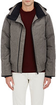 Canada Goose Men's Tech-Herringbone-Weave Coat-GREEN