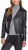 Religion Women's Rider Leather Long Sleeve Jacket