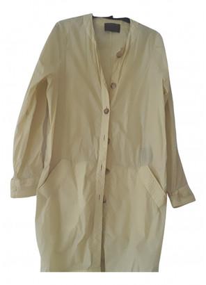 Loewe Yellow Polyester Trench coats