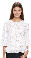 Apt. 9 Women's Crochet Ruffle Top