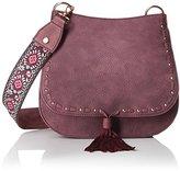 Steve Madden Swiss Cross Body Handbag,Berry