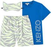 Kenzo 2-piece pyjamas and phosphorescent night mask - Glow in the Dark
