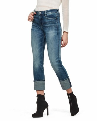 G Star Women's 4311 Noxer High Straight Wmn Jeans