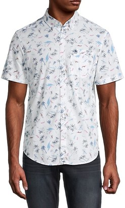 Original Penguin Printed Short-Sleeve Shirt