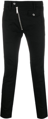 DSQUARED2 Mid-Rise Asymmetric Skinny Trousers