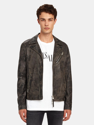 AllSaints Drury Leather Biker Jacket