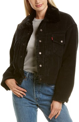 Levi's Ex Boyfriend Pieced Trucker Jacket