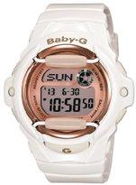 Casio Women's BG169G-7 Baby G White Watch