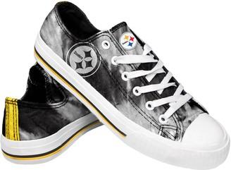 Women's Pittsburgh Steelers Tie-Dye Canvas Shoe