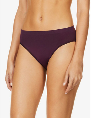 Hanro Touch Feeling high rise stretch-woven briefs